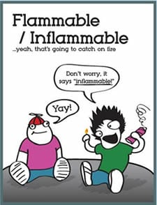 flammable_inflammable