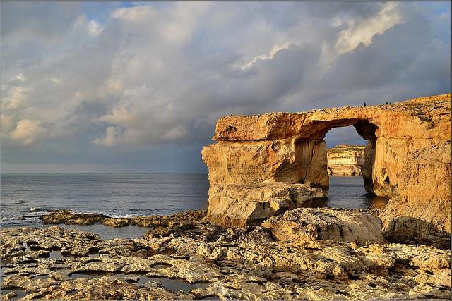 Robert Pittman/Flickr--The Azure Window, on the coast of Malta