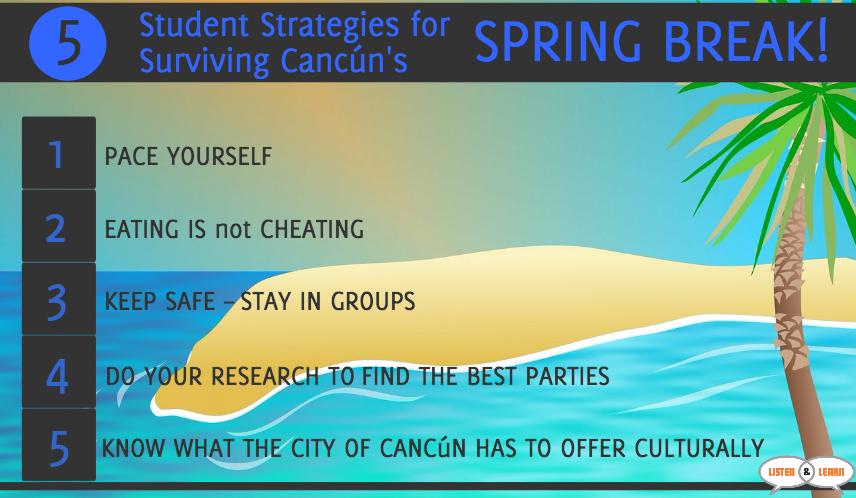 StudentStrategiesCancunSpringBreak