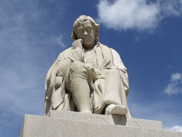 Samuel Johnson statue